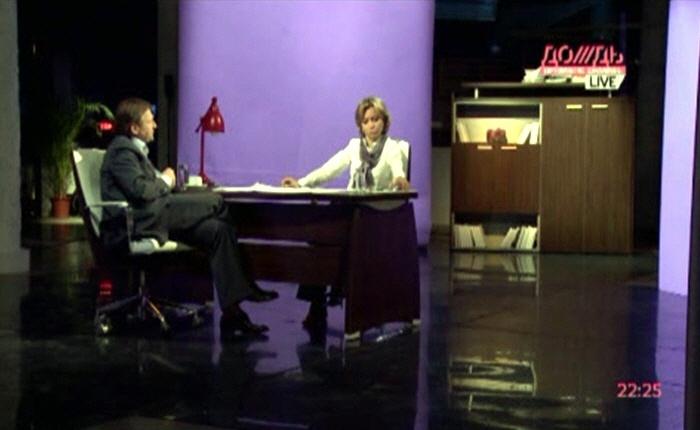 Борис Титов на телеканале Дождь