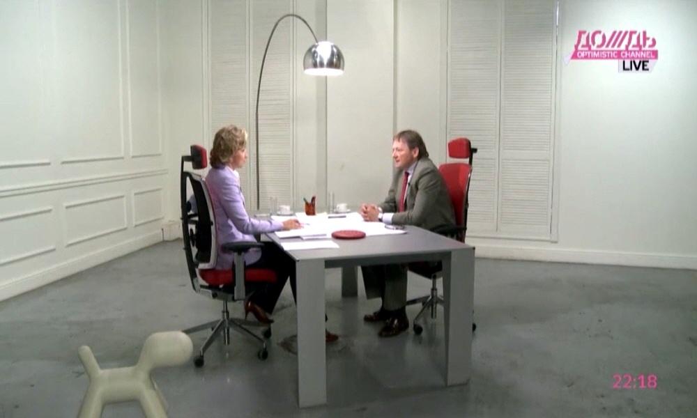 Борис Титов в программе Капиталисты на телеканале Дождь