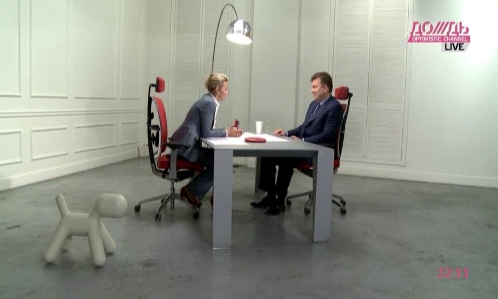 Виктор Линник в программе Капиталисты на телеканале Дождь