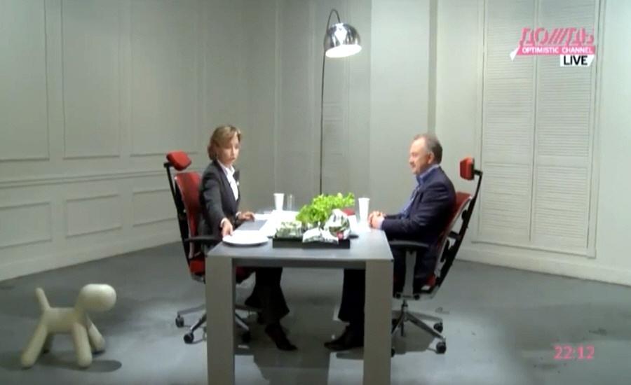 Виктор Семёнов в программе Капиталисты на телеканале Дождь
