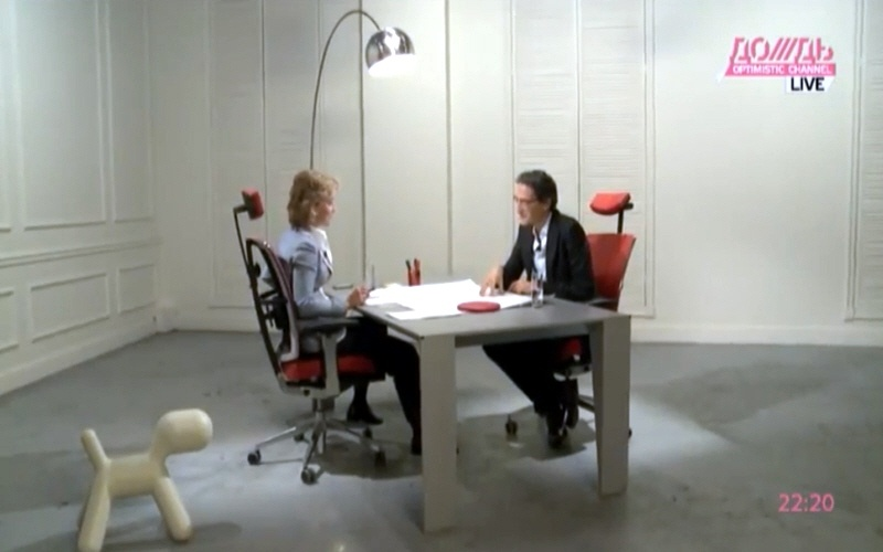 Дан Серфати в программе Капиталисты на телеканале Дождь