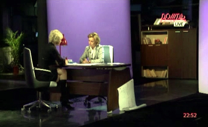 Елена Петрова на телеканале Дождь