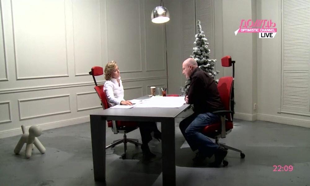 Кевин Робертс в программе Капиталисты на телеканале Дождь