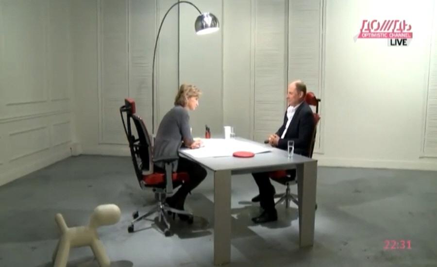 Кирилл Якубовский в программе Капиталисты на телеканале Дождь