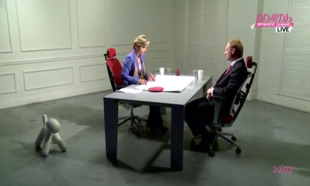 Леонид Казинец в программе Капиталисты на телеканале Дождь
