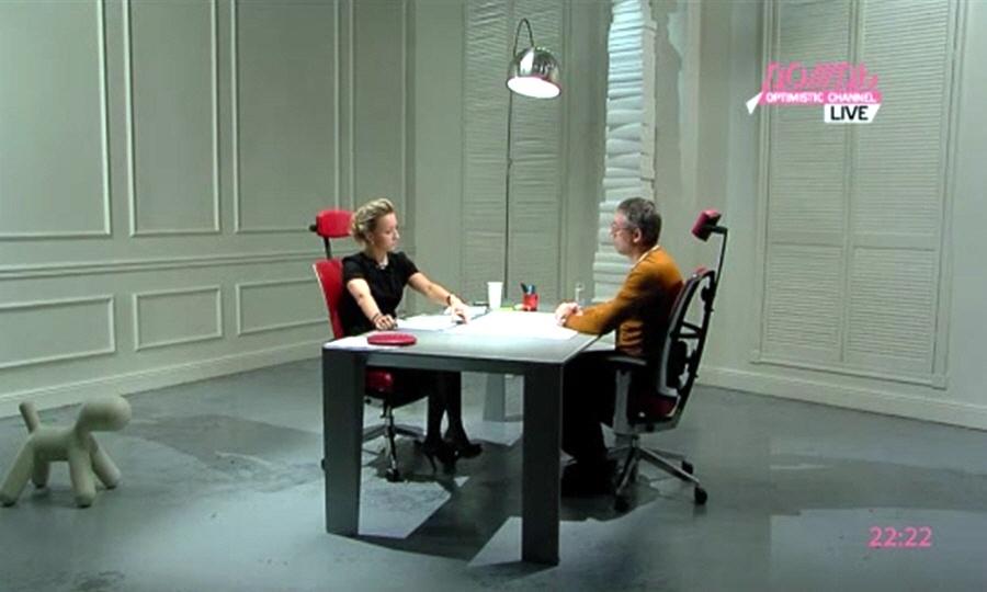 Максим Каширин в программе Капиталисты на телеканале Дождь