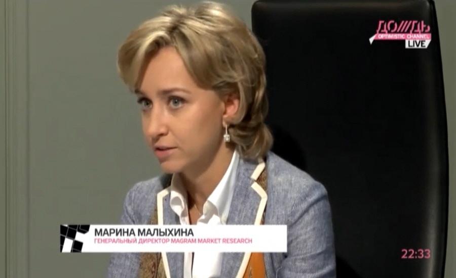 Марина Малыхина президент компании Magram Market Research