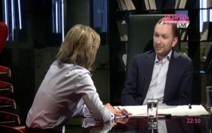 Михаил Зельман на телеканале Дождь