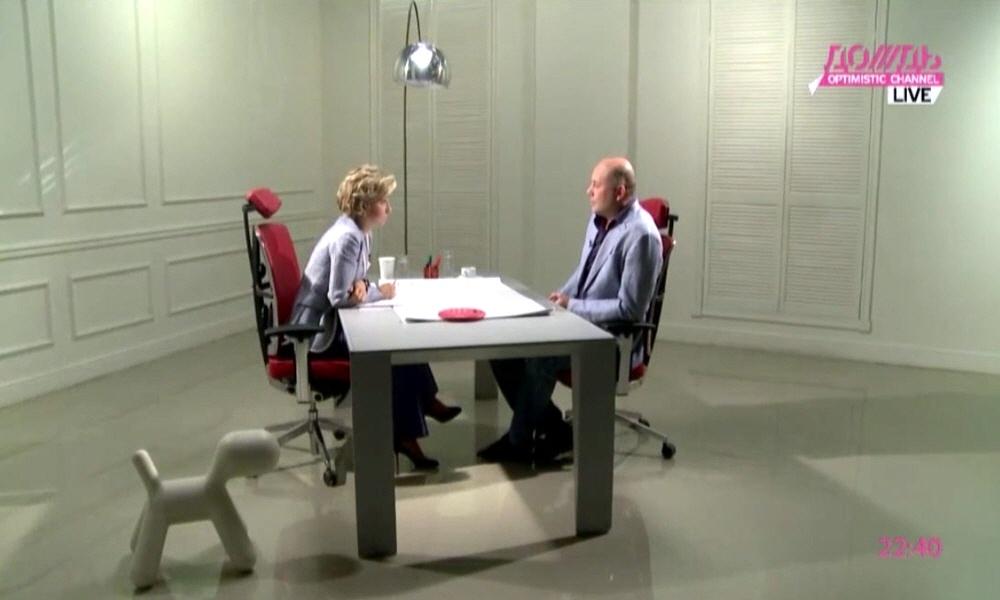 Павел Шишкин в программе Капиталисты на телеканале Дождь