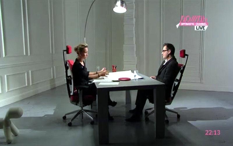 Пётр Кутис в программе Капиталисты на телеканале Дождь
