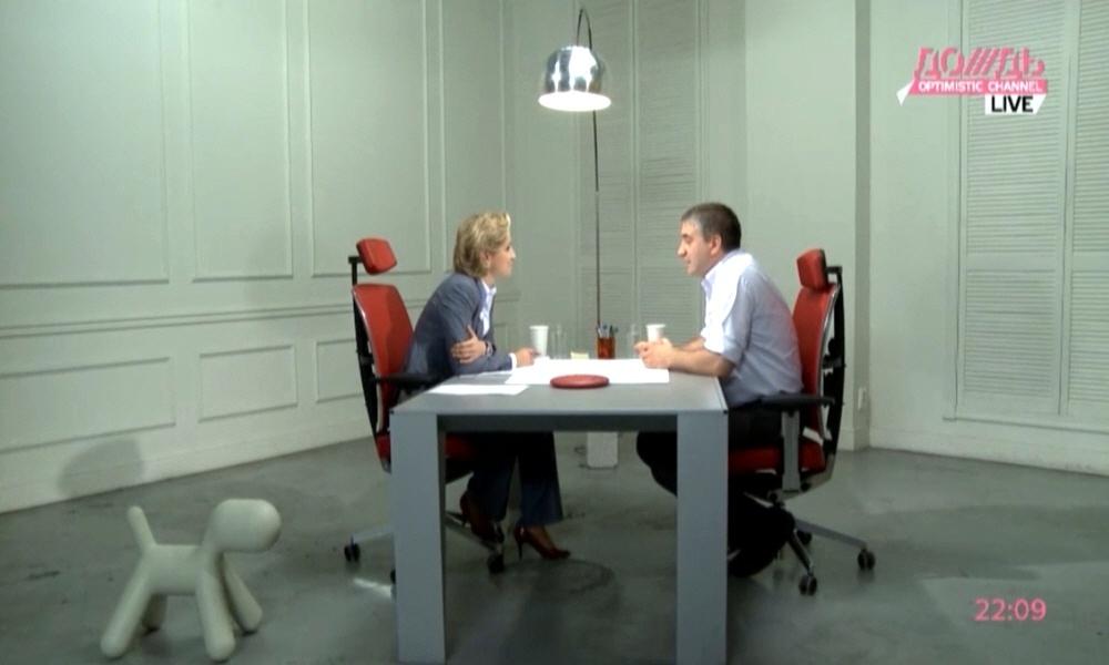Сергей Белоусов в программе Капиталисты на телеканале Дождь