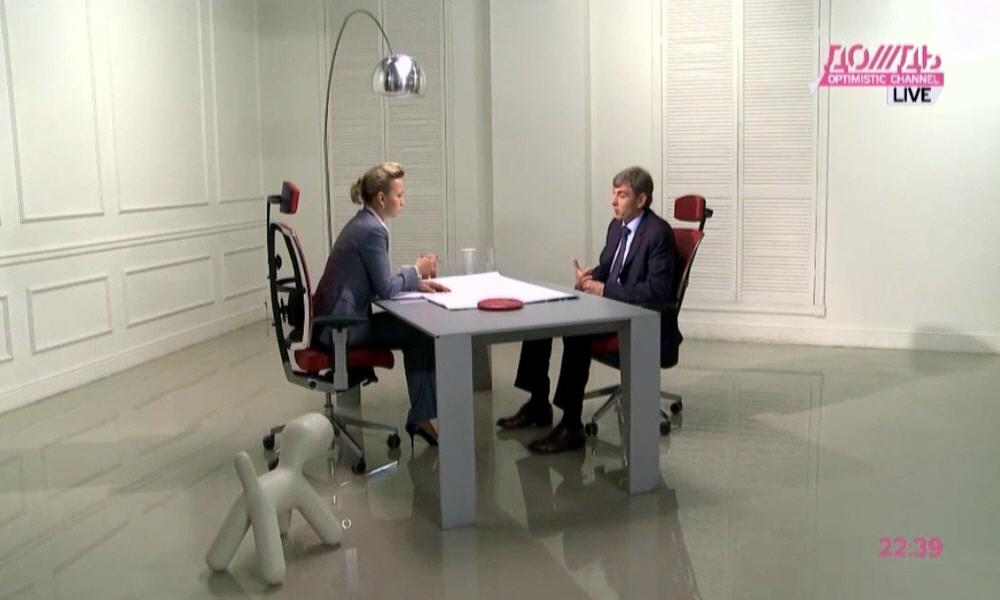 Сергей Галицкий в программе Капиталисты на телеканале Дождь