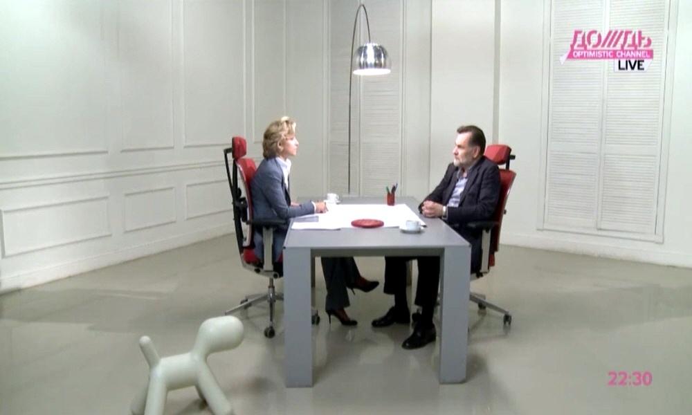 Сергей Сельянов в программе Капиталисты на телеканале Дождь