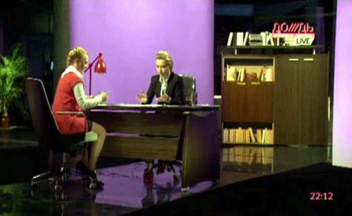 Софья Светлосанова на телеканале Дождь