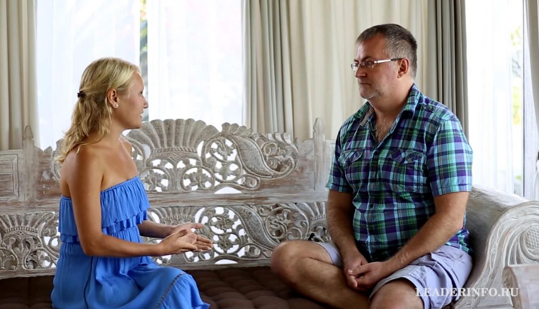 Сергей Всехсвятский в передаче LeaderInfo