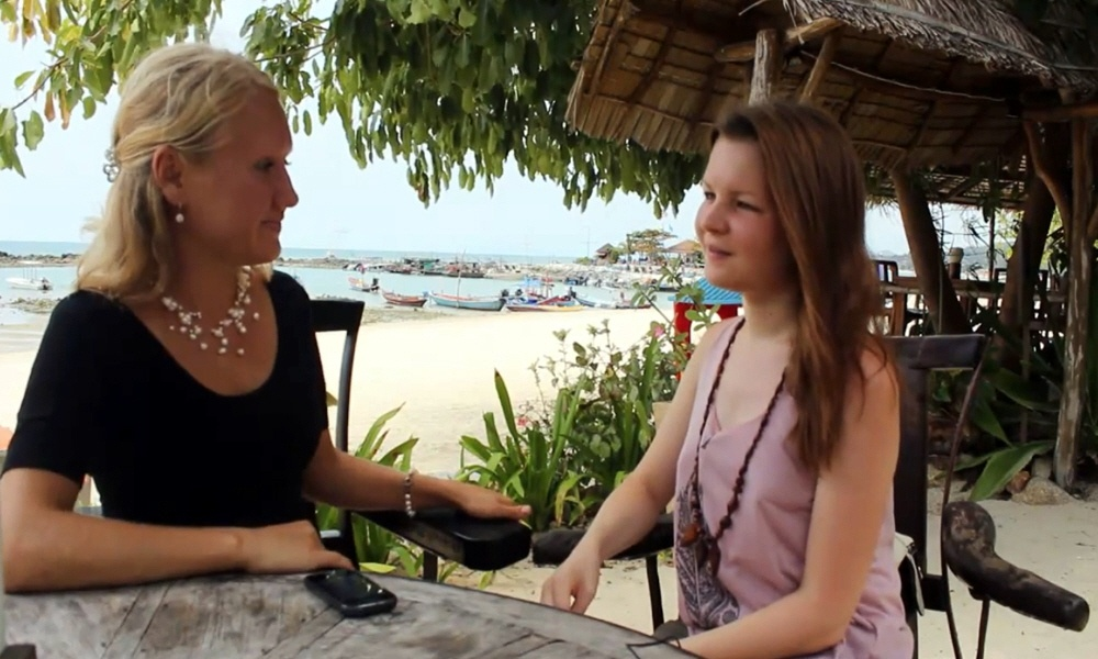 Вета Данилова в передаче LeaderInfo