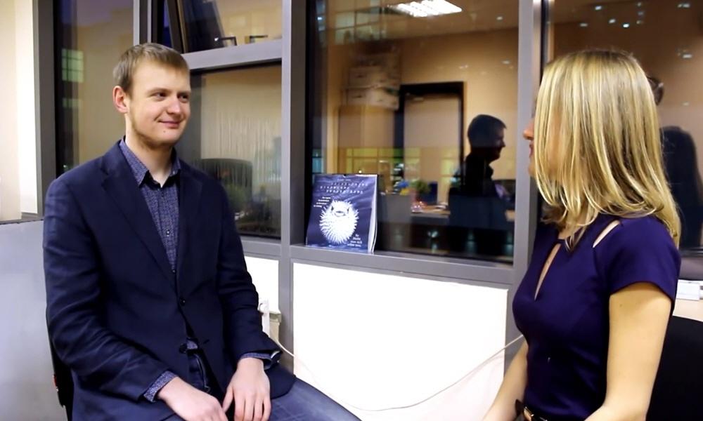 Николай Волосянков в передаче LeaderInfo