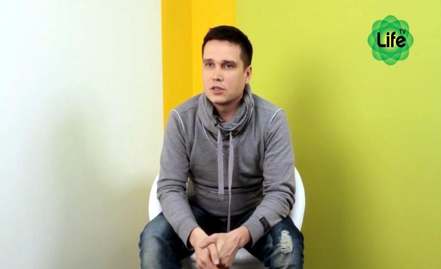 Денис Шапкарин в программе LifeTV