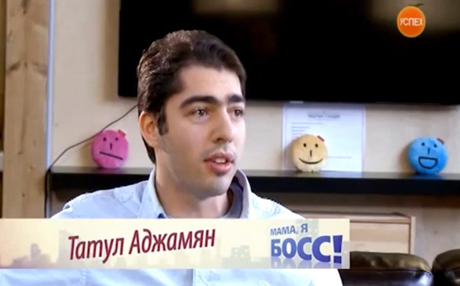 Татул Аджамян - сооснователь социального будильника Budist