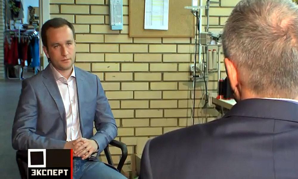 Александр Малюгин в программе Мастер-класс на телеканале Эксперт