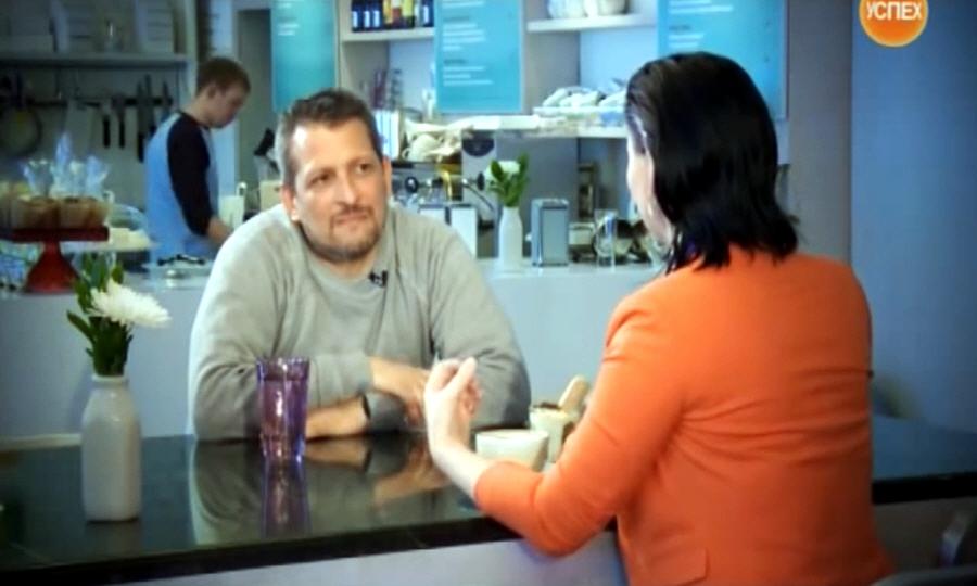 Айзек Корреа в передаче Моё Дело на телеканале Успех
