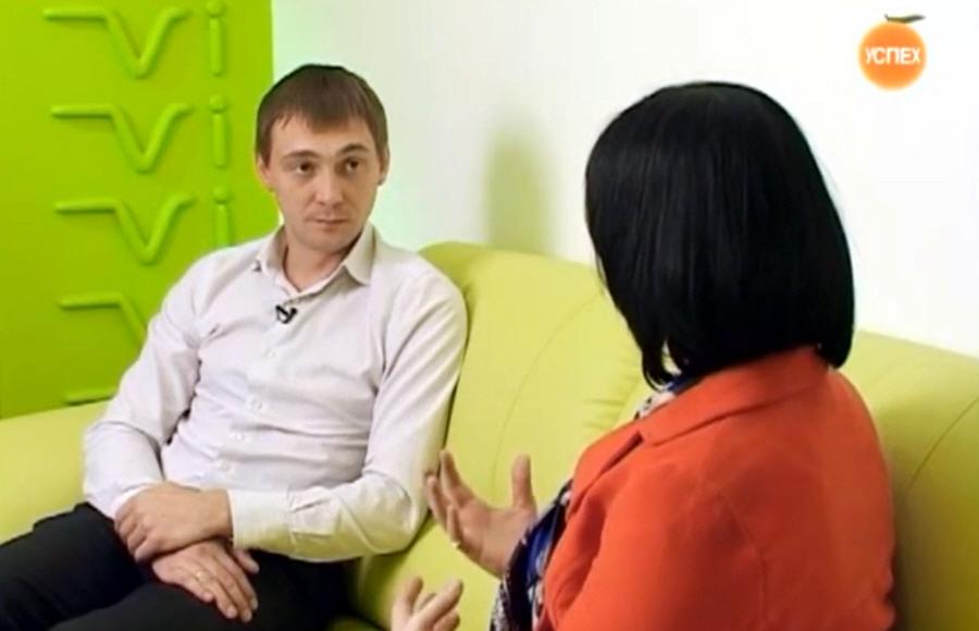 Денис Куштанин в передаче Моё Дело на телеканале Успех