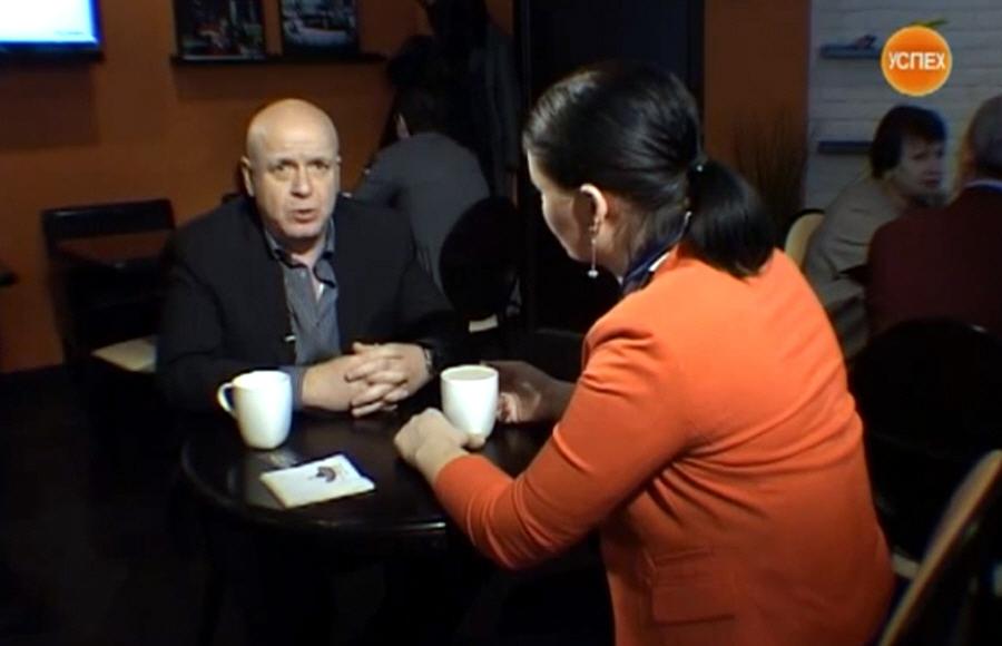 Евгений Коган в передаче Моё Дело на телеканале Успех