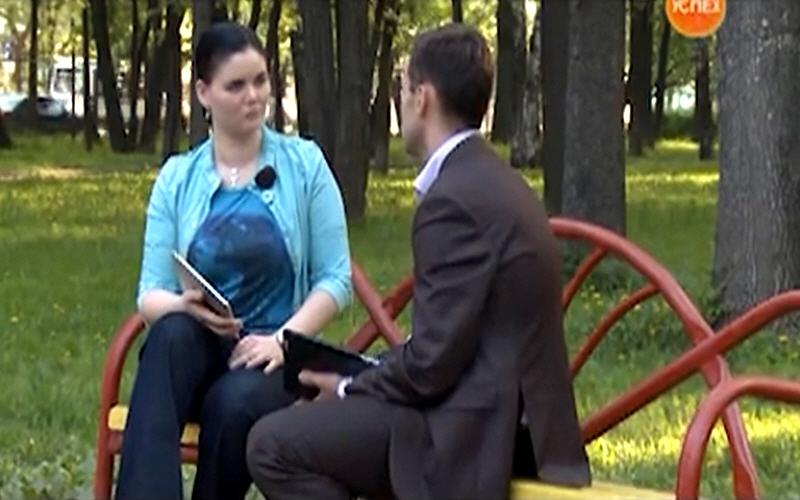 Роман Антошин в передаче Моё Дело на телеканале Успех