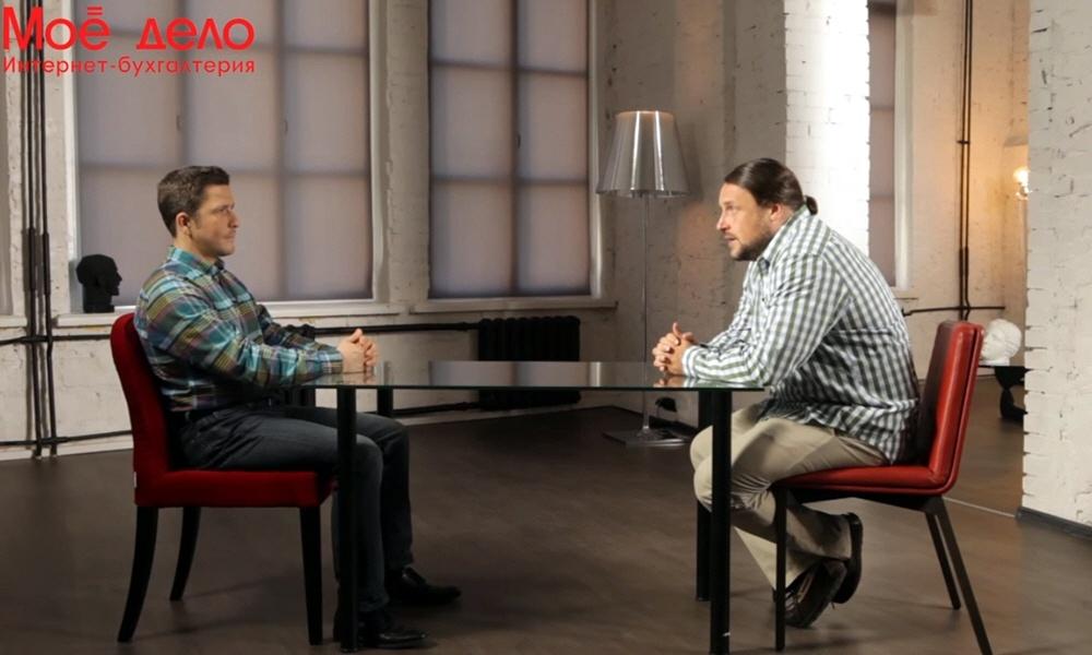 Максим Спиридонов в программе Олега Анисимова Моё Дело