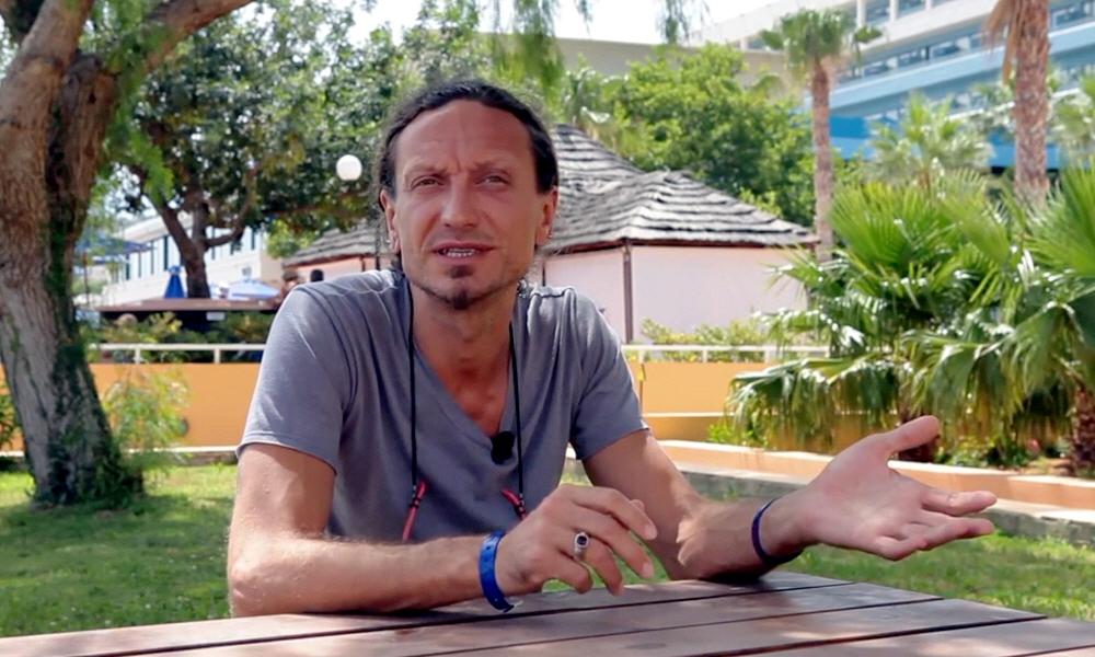 Михаил Огородников в программе Наедине со звёздами