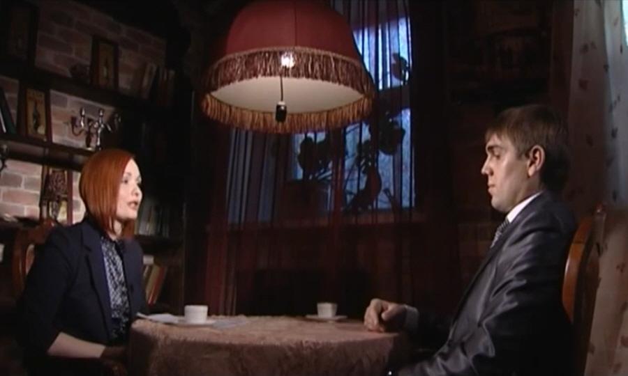 Алексей Белов в программе Напротив на телеканале МИР ТВ