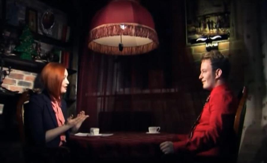 Илья Раев в программе Напротив на телеканале МИР ТВ