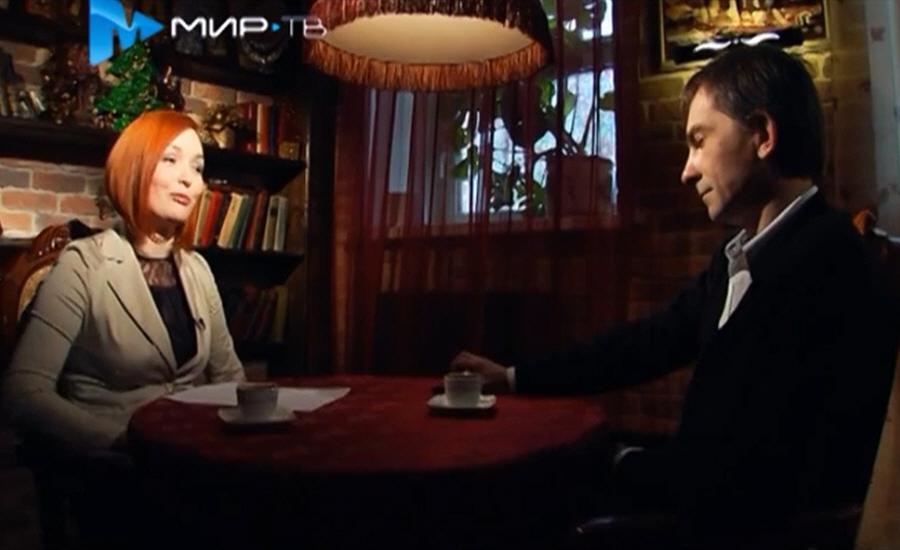 Максим Черепанов в программе Напротив на телеканале МИР ТВ