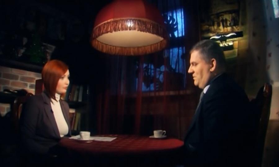 Михаил Климов в программе Напротив на телеканале МИР ТВ