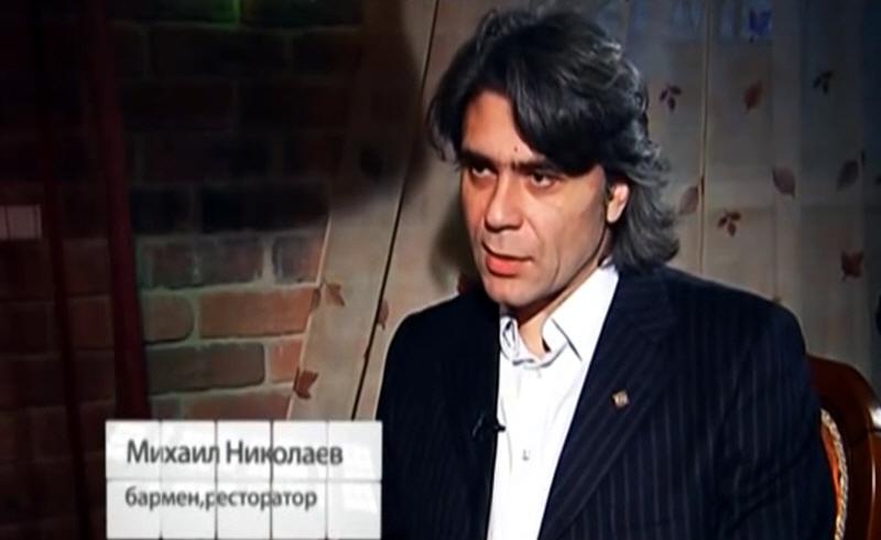 Михаил Николаев - бармен, ресторатор
