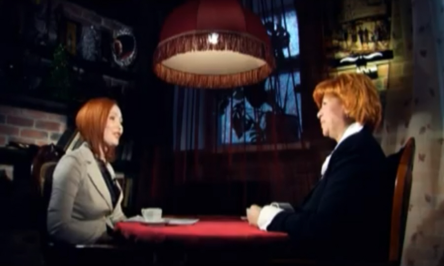 Ольга Звягинцева в программе Напротив на телеканале МИР ТВ