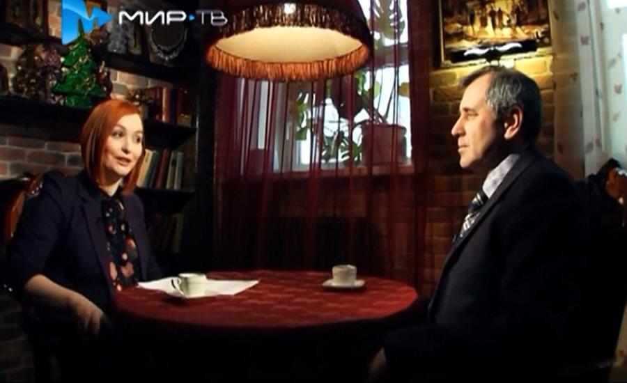 Сергей Годунин в программе Напротив на телеканале МИР ТВ