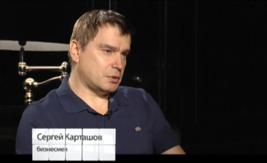 Сергей Карташов владелец ресторанно-гостиничного комплекса Клязьма на телеканале МИР ТВ
