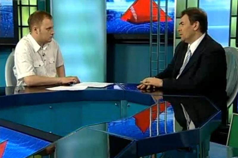 Борис Шаров в программе Окно в Бизнес