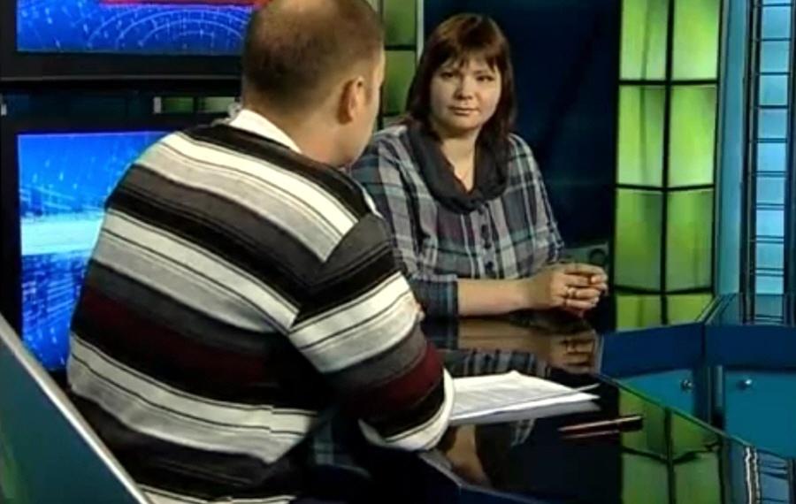 Елена Ефимова в программе Окно в Бизнес