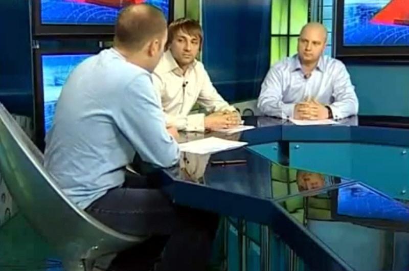 Артур Лукьянов и Дмитрий Филоненко в программе Окно в Бизнес