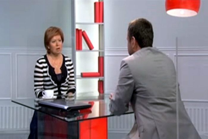 Ольга Лысенко в программе PIN-код