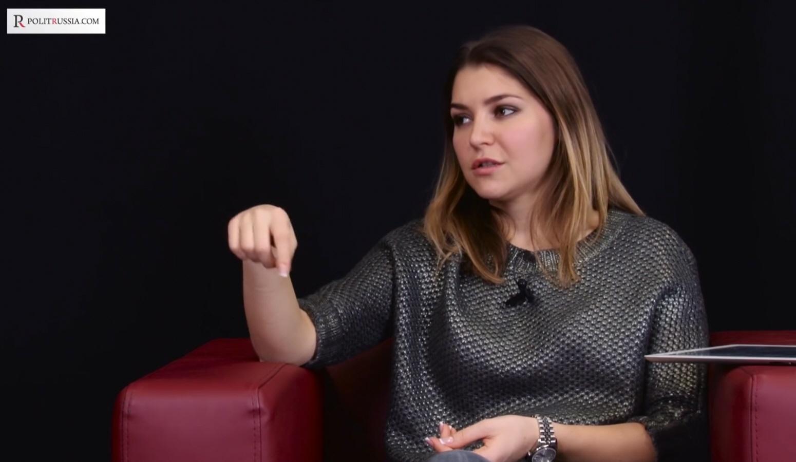 Анастасия Куршева - ведущая на портале Politrussia