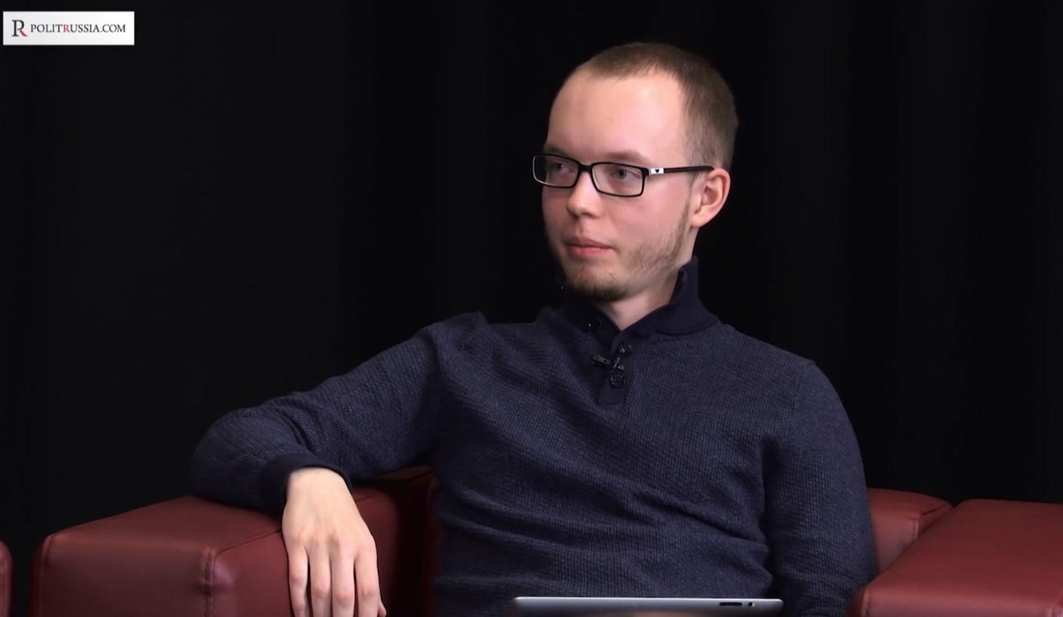 Глеб Медведев - редактор издания Politrussia