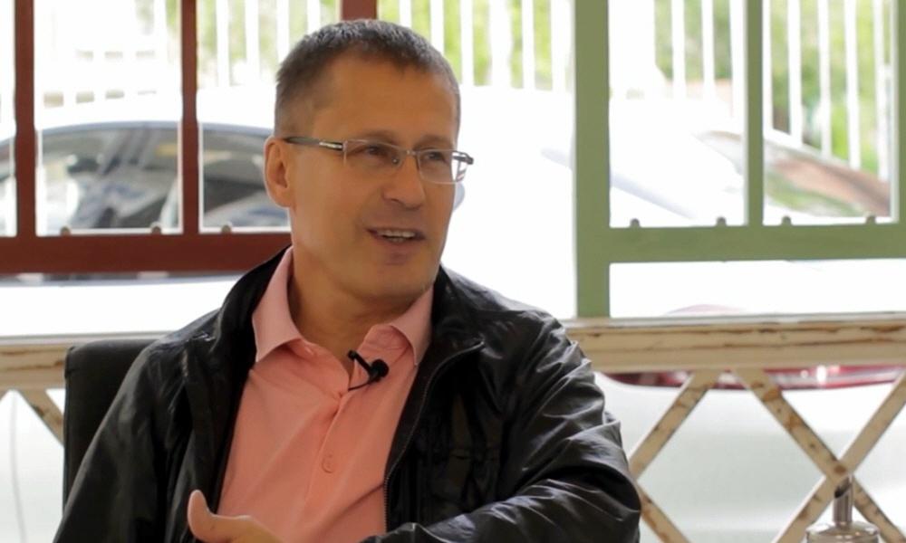 Олег Панкратов - президент российско-японской школы Джиу Джитсу Тайсэй