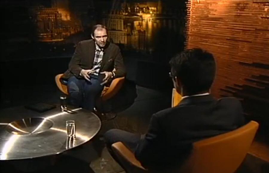 """Руководитель компании """"Usability Lab"""" Дмитрий Сатин в программе """"Персона Grata"""" в 2011 году"""