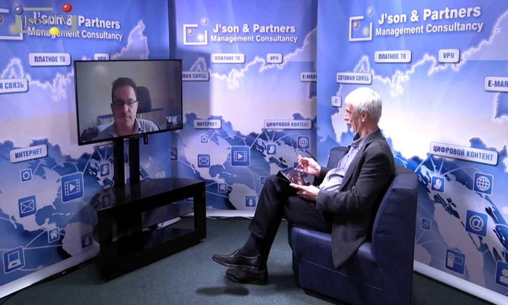 Алексей Экслер в передаче Персоналии ИКТ-бизнеса