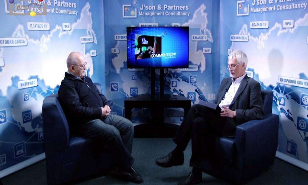Дмитрий Зимин в передаче Персоналии ИКТ-бизнеса