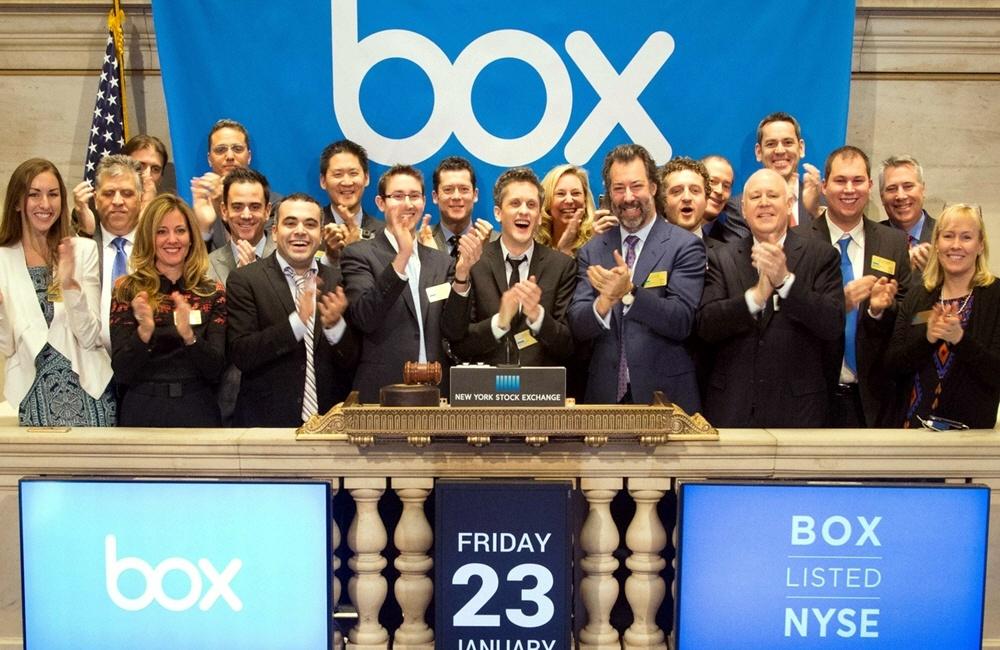 Американская хостинговая корпорация Box