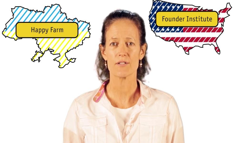 Маделин Дюва - ментор бизнес-инкубаторов The Founder Institute и Happy Farm